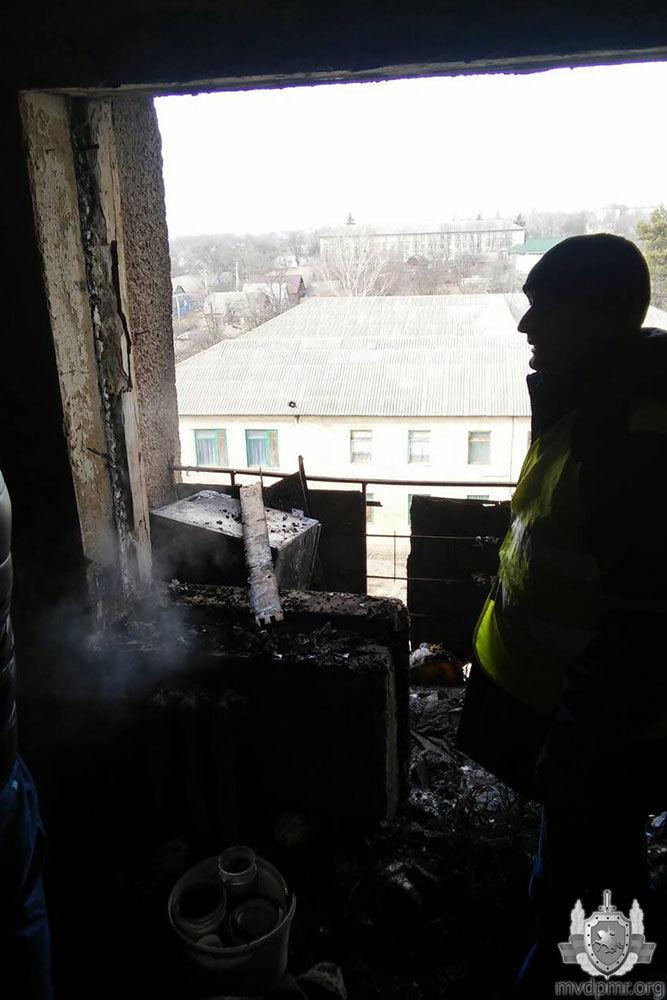 Забытая свеча стала причиной пожара в квартире жительницы Дубоссар фото 2