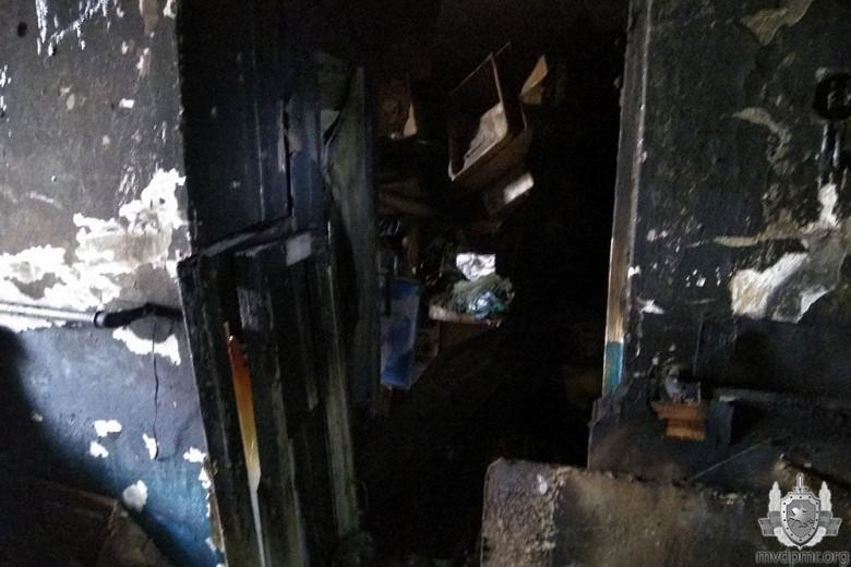 Забытая свеча стала причиной пожара в квартире жительницы Дубоссар фото 5
