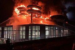 В Бельгии сгорел аквапарк за 33 миллиона евро
