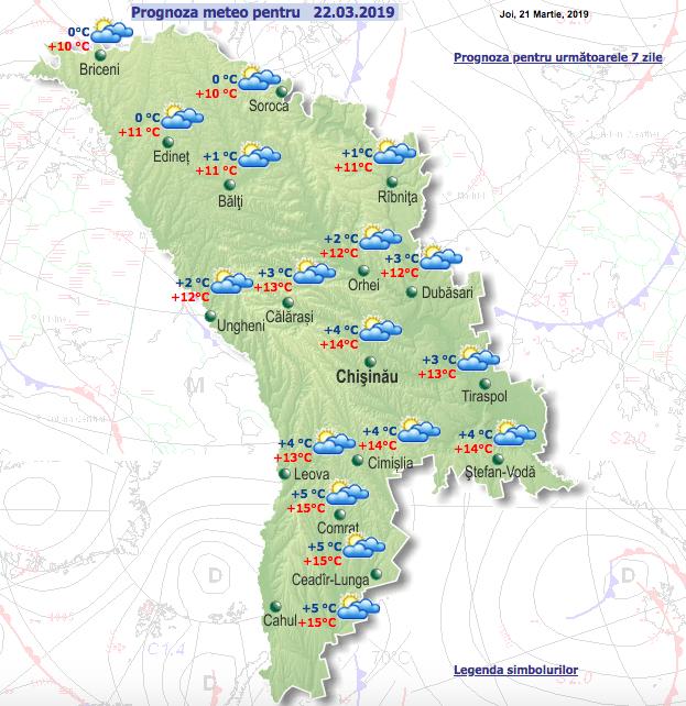 Синоптики рассказали о погоде в Молдове в пятницу и выходные дни фото 2