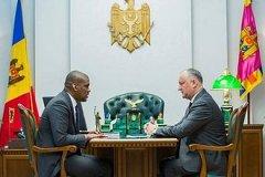 Игорь Додон провел встречи с послами России и США в Молдове