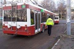В Бельцах полицейские проверили троллейбусы: четыре машины не вышли на линии
