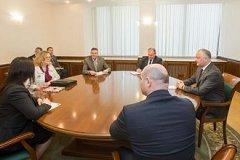 Додон провел встречу с послом Австрии в Молдове