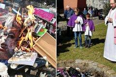 Польский священник публично извинился за сожжение книг о Гарри Поттере