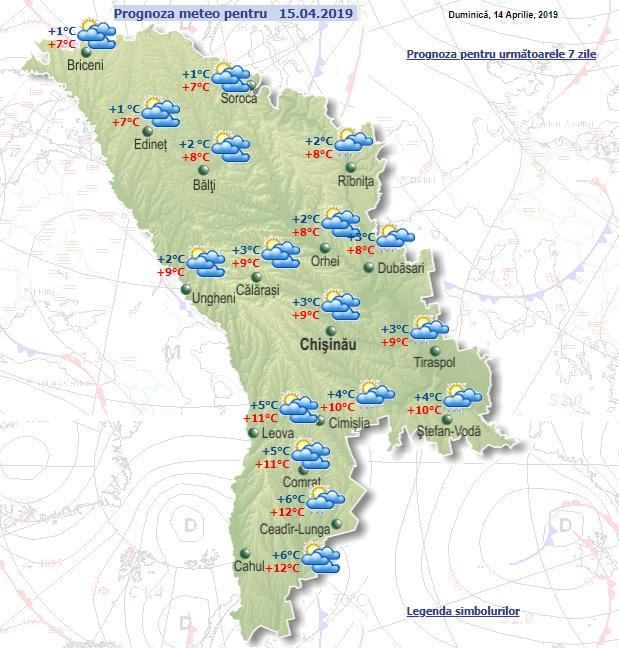 Синоптики рассказали о погоде в Молдове в первый день рабочей недели фото 2