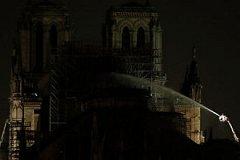 Пожар в соборе Парижской Богоматери ликвидирован силами более 400 пожарных