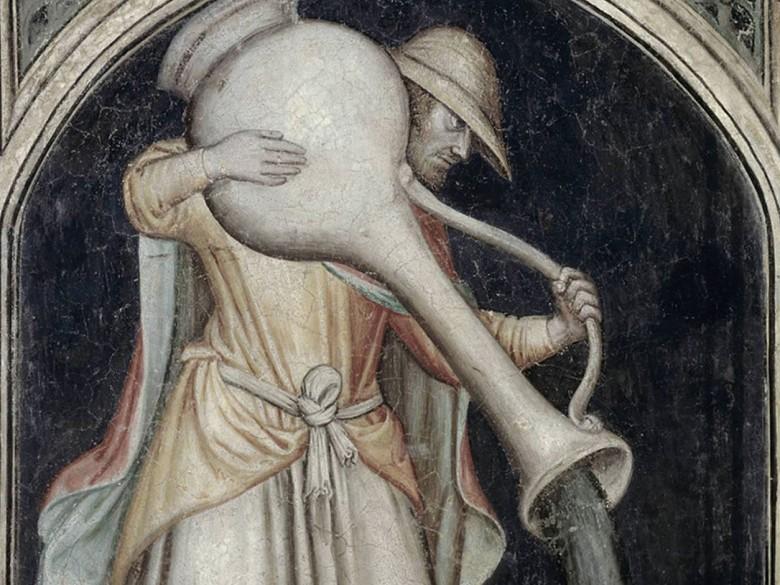 В Средневековье города были заполнены нечистотами, которые жители выливали прямо на улицах
