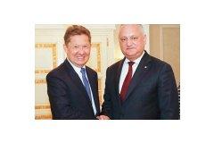 Молдова и «Газпром» начнут переговоры по условиям новых газовых контрактов