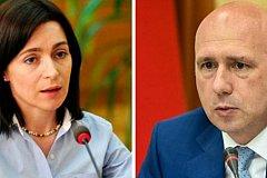 Молдавское двоевластие. МИД Украины считает премьер-министром и Санду, и Филипа