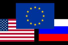 Как Россия, Европа и Америка отреагировали на «уход» Правительства?