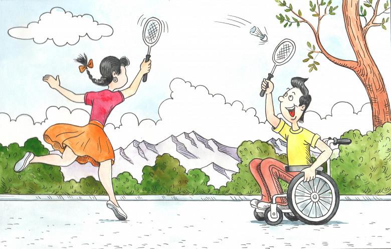 Дети с инвалидностью мечтают быть равными...
