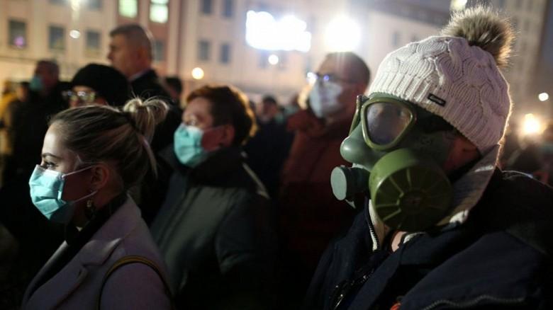 В Приднестровье штраф за выход из дома без маски больше 150 долларов или арест на 15 суток.