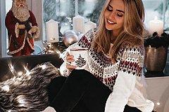Новогоднее фото в инстаграм