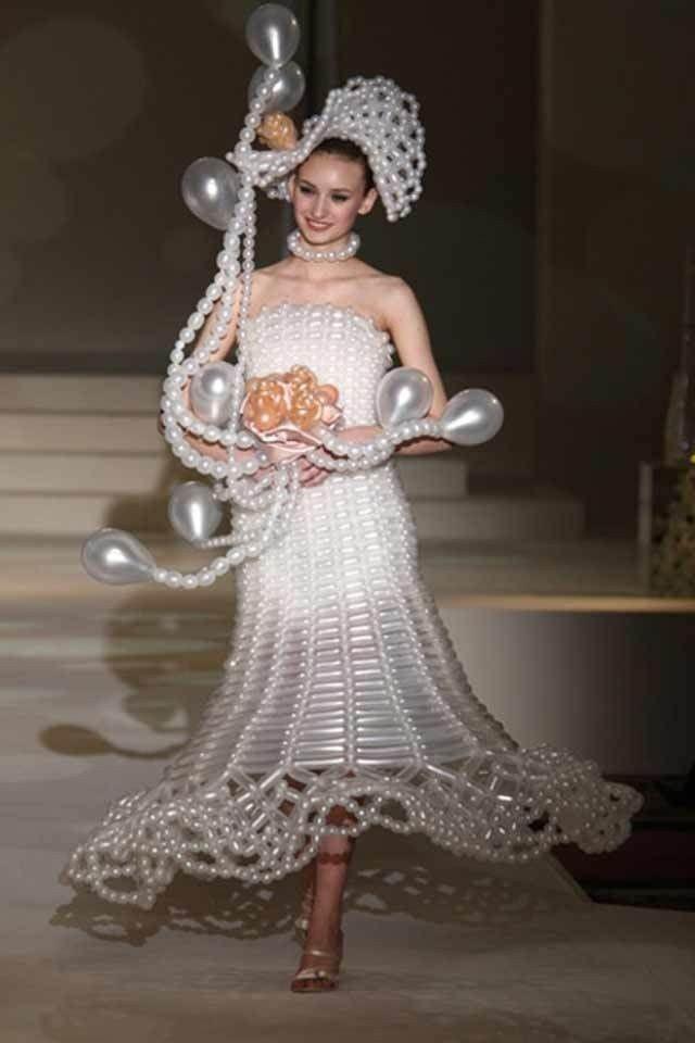 Необычные свадебные платья фото 14