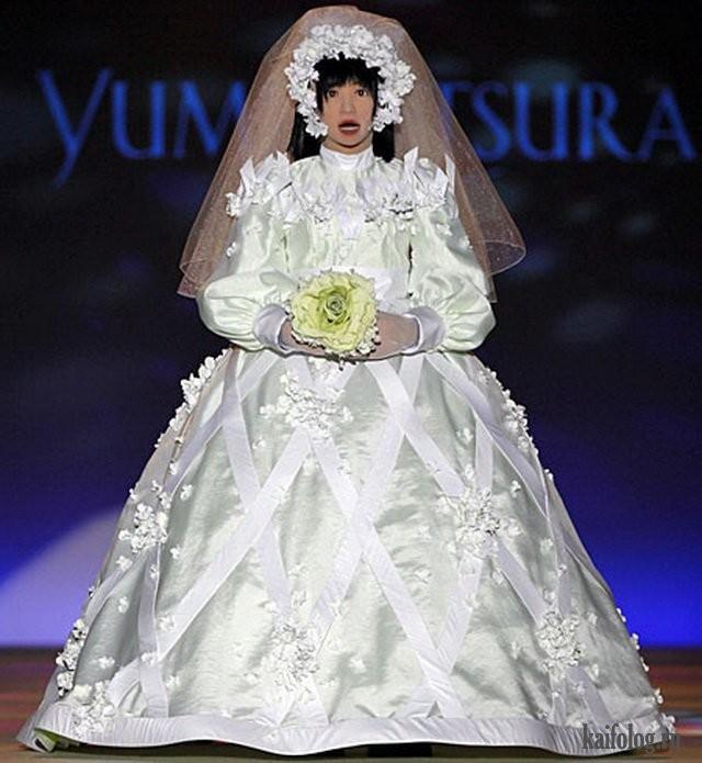 Необычные свадебные платья фото 15