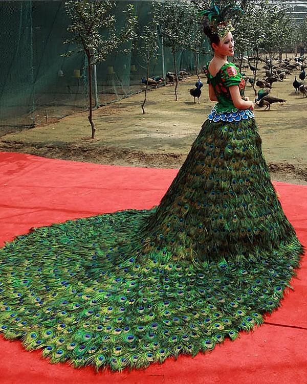 Необычные свадебные платья фото 4