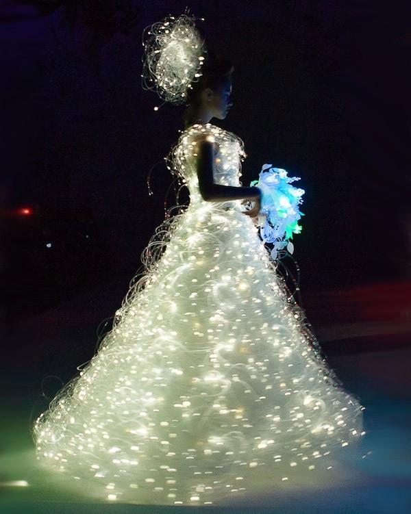 Необычные свадебные платья фото 10