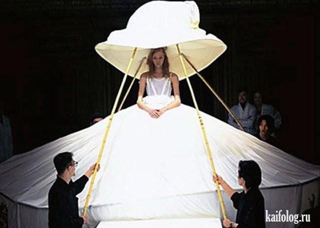 Необычные свадебные платья фото 18