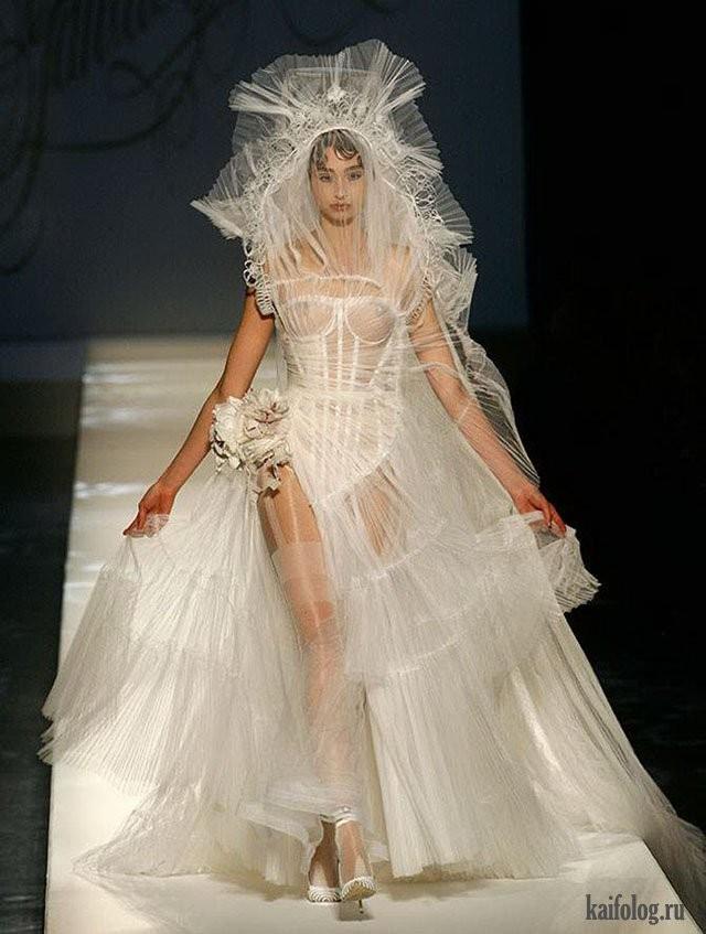 Необычные свадебные платья фото 17