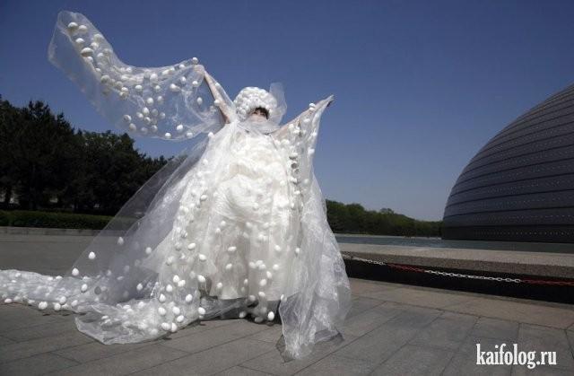 Необычные свадебные платья фото 20