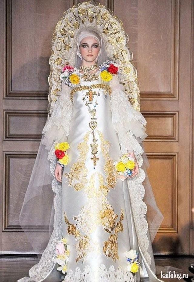 Необычные свадебные платья фото 16