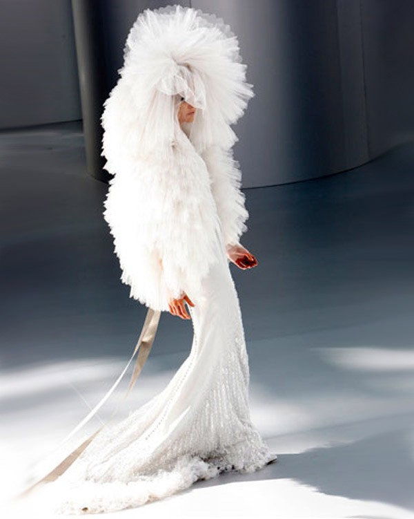 Необычные свадебные платья фото 5