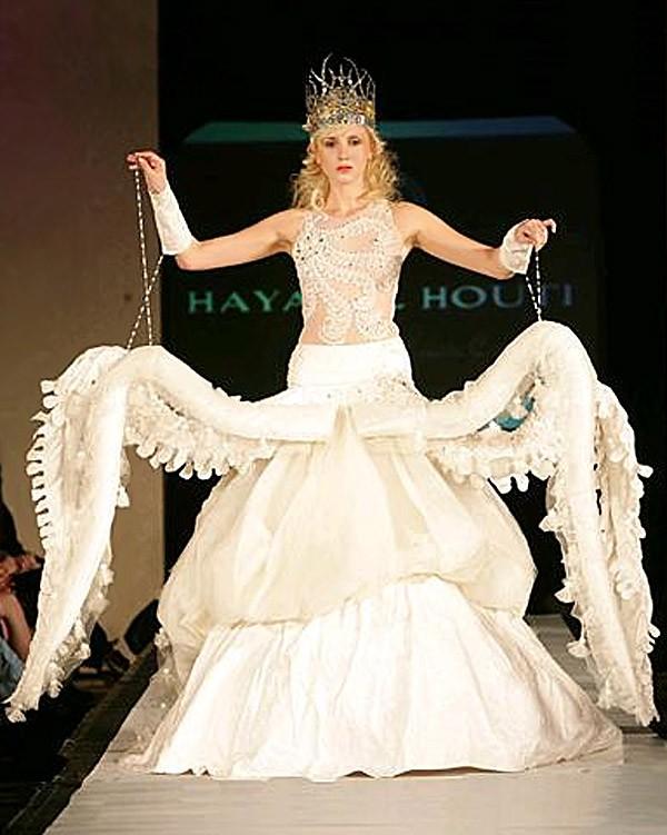 Необычные свадебные платья фото 8