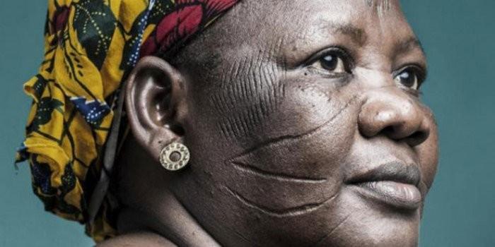 Шраимрование лиц и тела, новая Гвинея