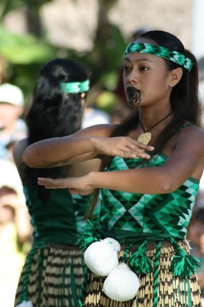 Тату на лице. Женщина племени «Маори», Новая Зеландия