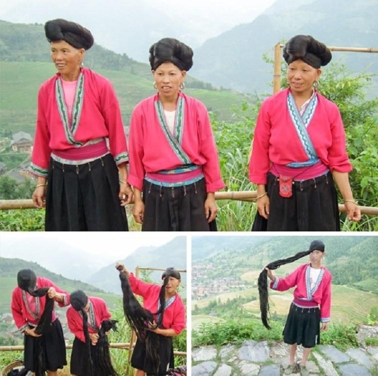 Длинные косы, Китай