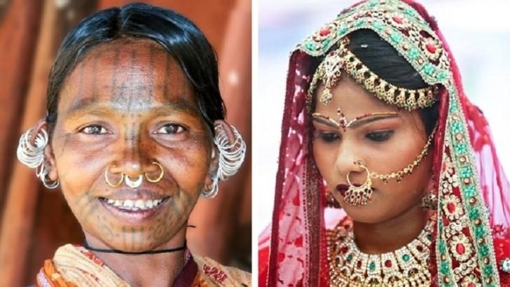 Пирсинг носа, Индия