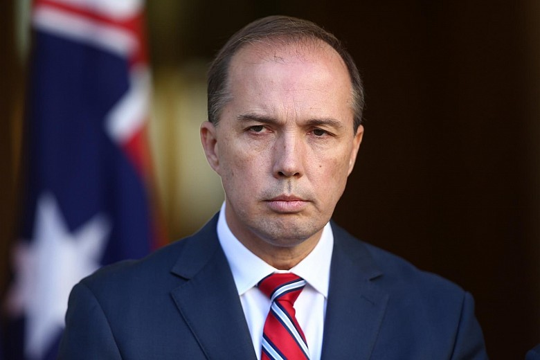 Министр внутренних дел Австралии, Питер Даттон