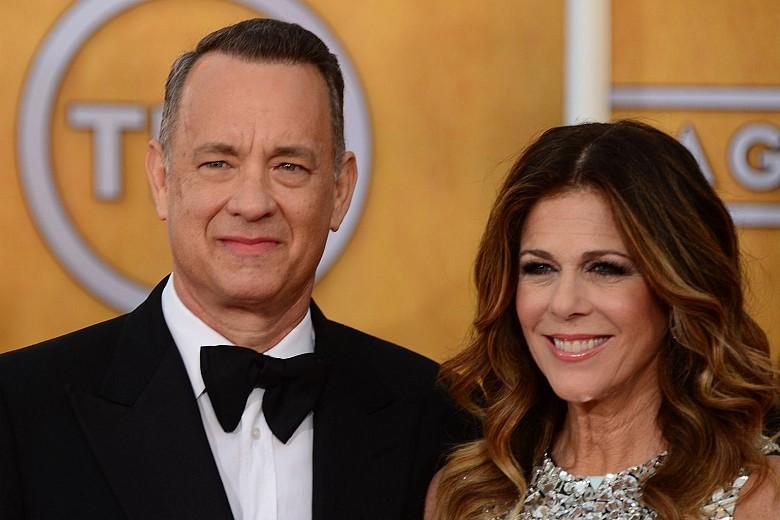 Том Хэнкс и его супруга Рита Уилсон
