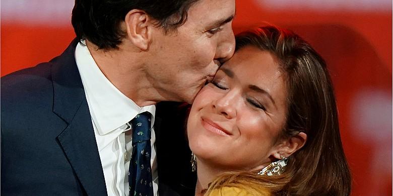 Супруга Премьер-министра Канады Софи.