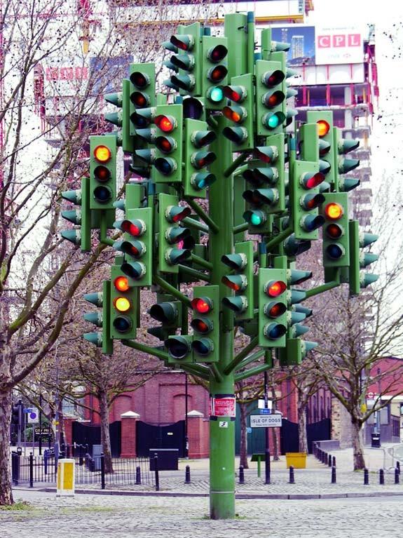 Памятник Светофору, Лондон, Англия