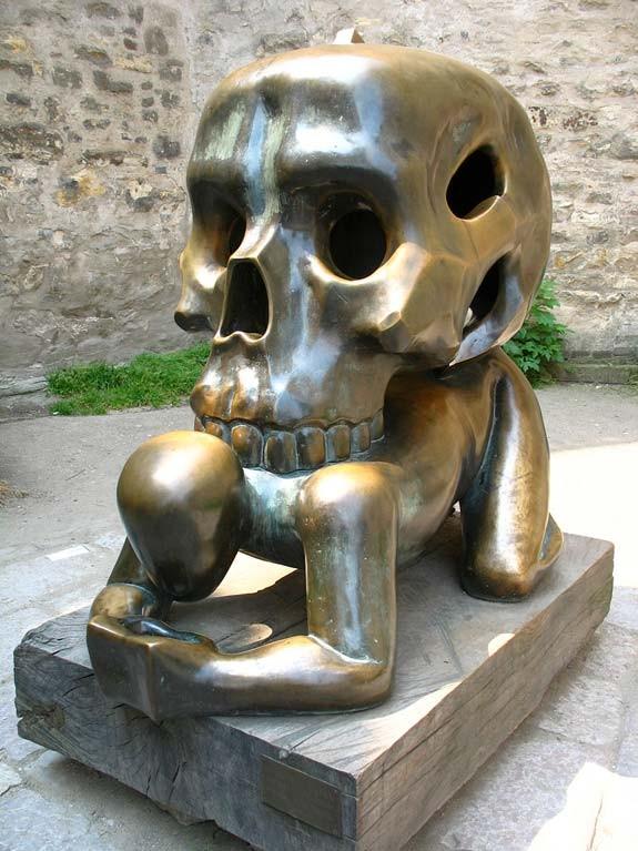 Памятник Черепу (помни о смерти), Чехия