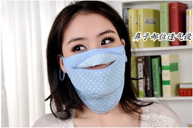 Креативные медицинские маски фото 17