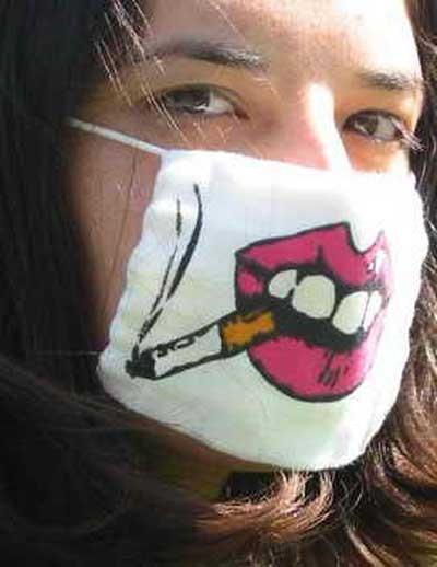 Креативные медицинские маски фото 13