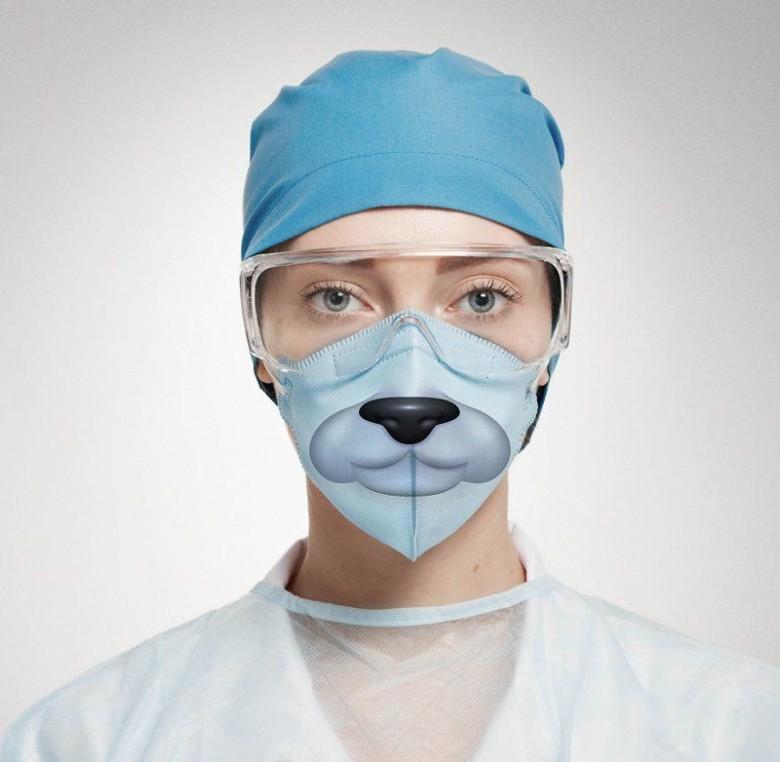 Креативные медицинские маски фото 2