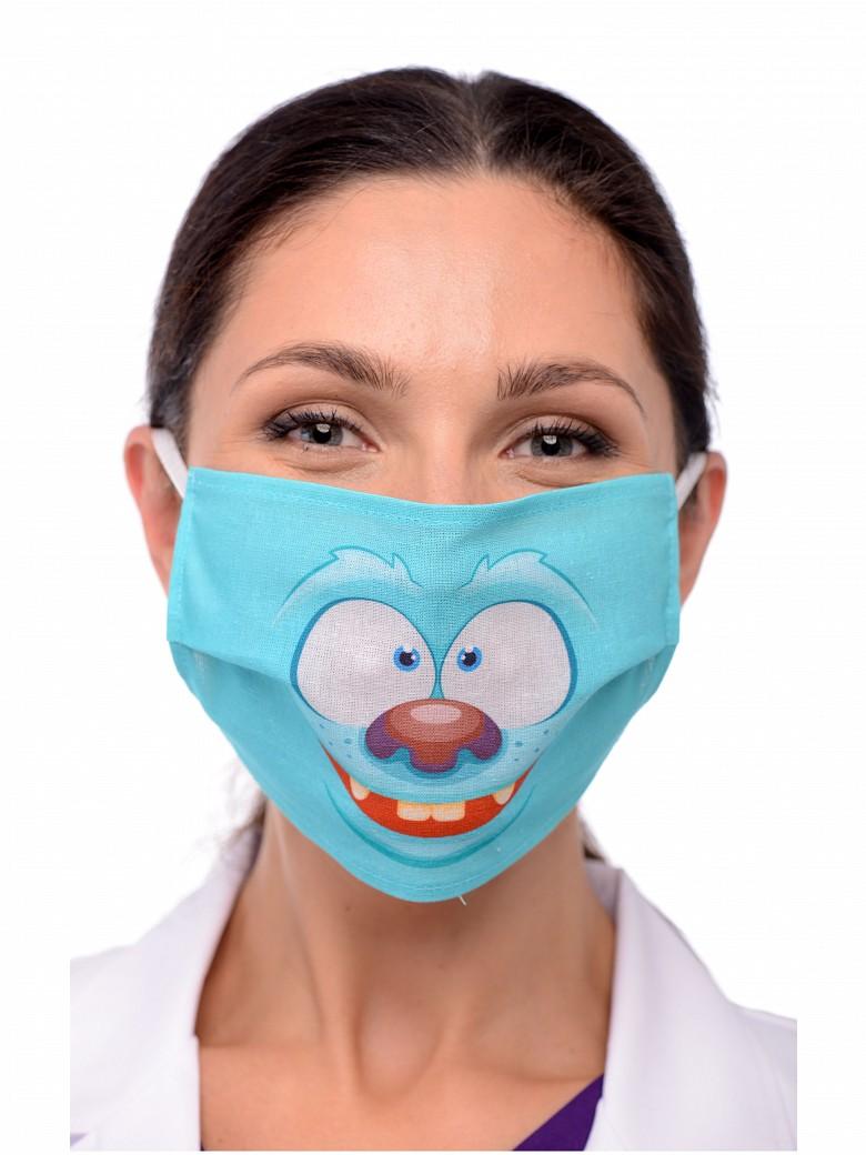 Креативные медицинские маски фото 18