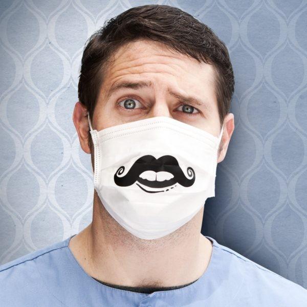 Креативные медицинские маски фото 6