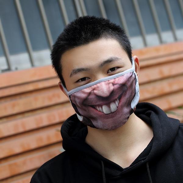 Креативные медицинские маски фото 10