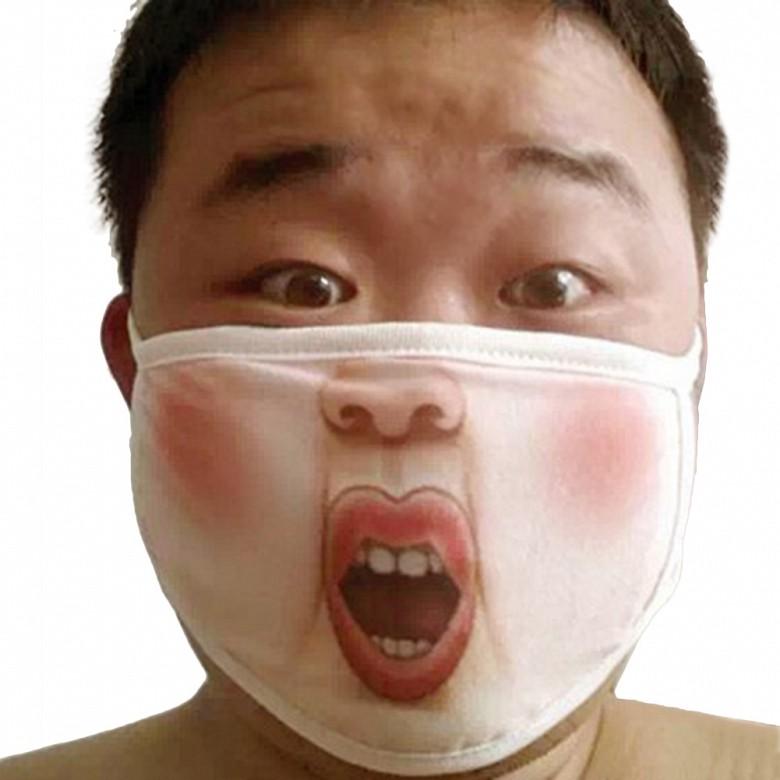 Креативные медицинские маски фото 12