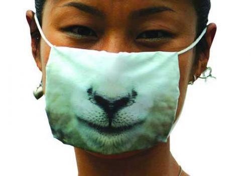 Креативные медицинские маски фото 9